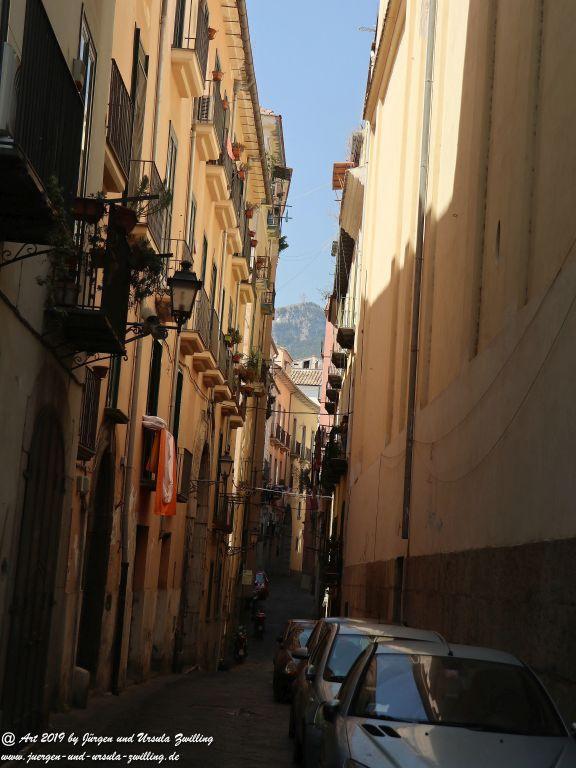 Salerno in Kampanien -Amalfiküste - Italien