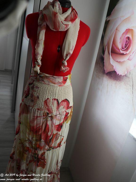 Ursula's Projekt Sommerrock mit Schal