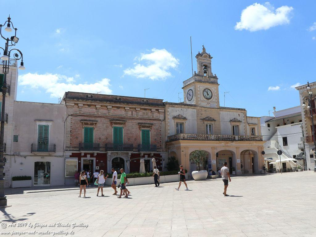Fasano in Apulien - Italien