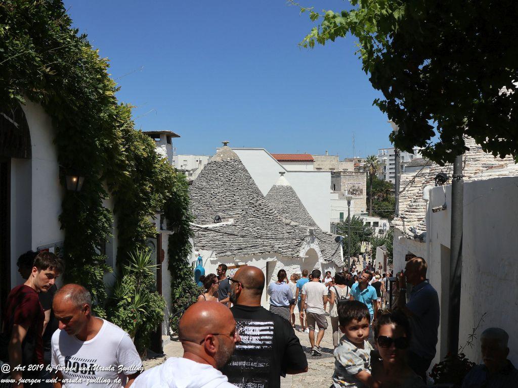 Trullo -Alberobello in Apulien - Italien