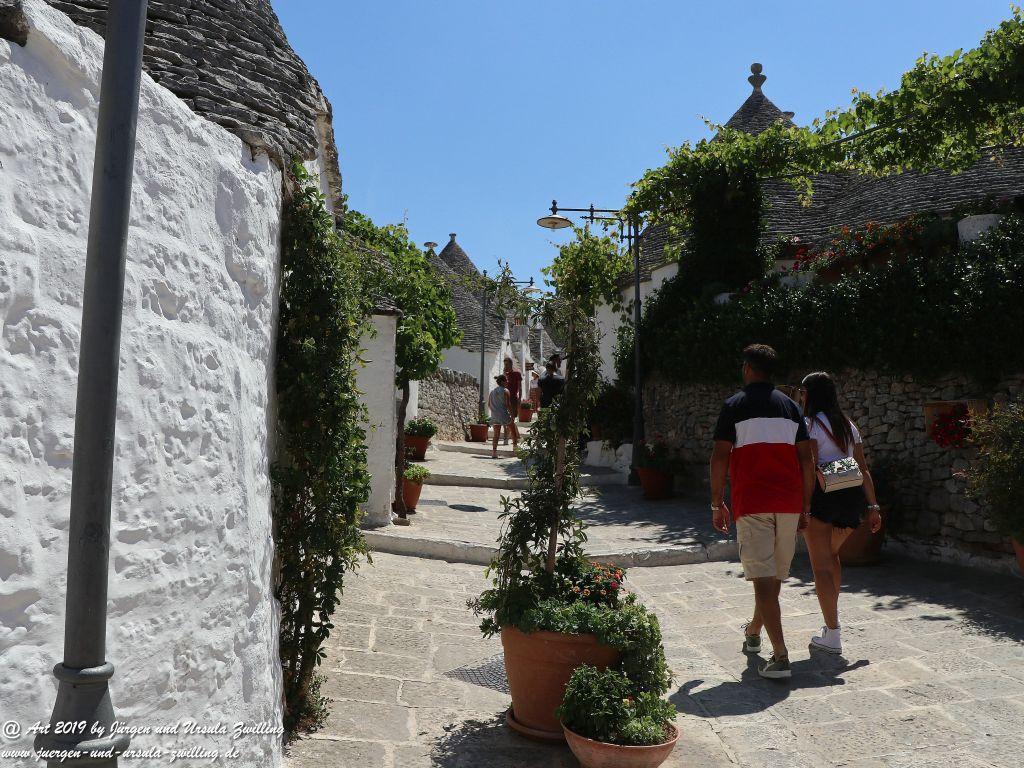 Alberobello in Apulien - Italien
