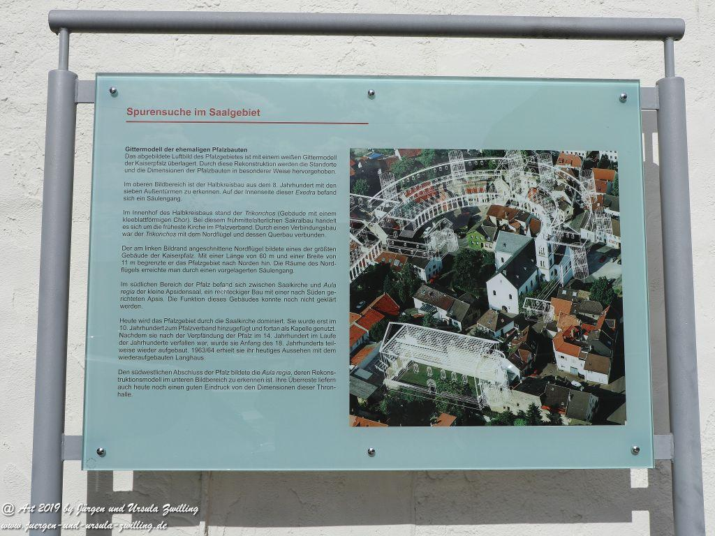 Die Kaiserpfalz in Ingelheim am Rhein - Rheinhessen