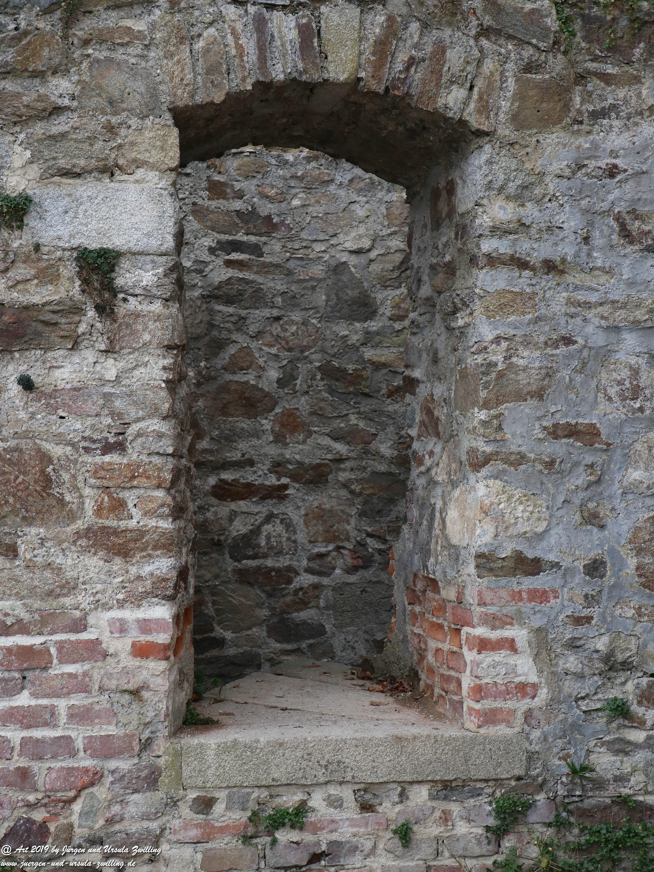 Burgtür