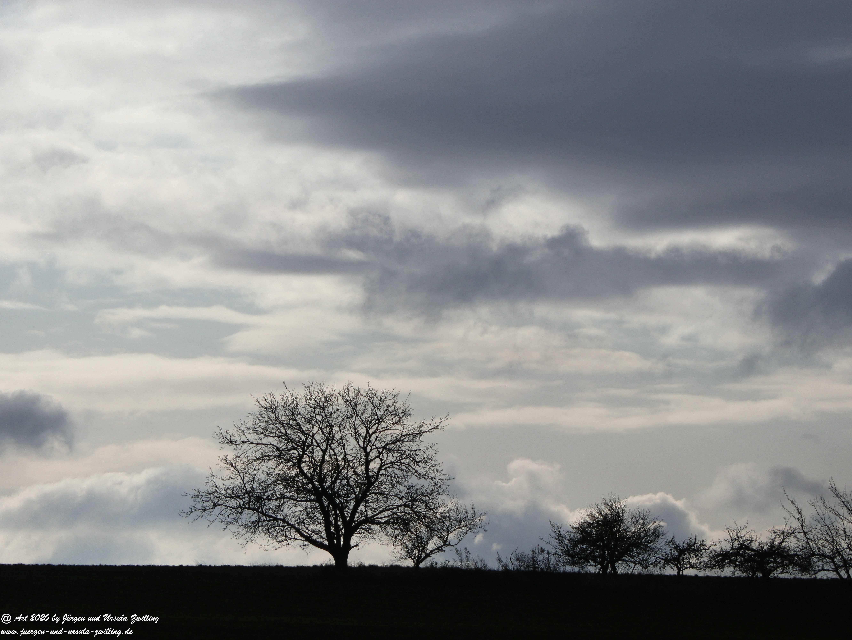 Rheinhessischer Winterhimmel 4