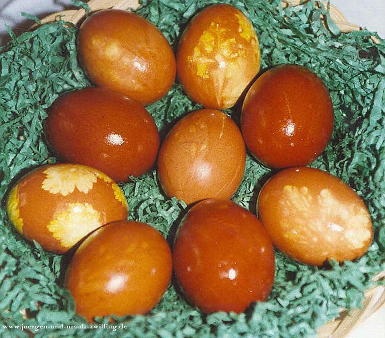 Möhrenkuchen mit Osternest