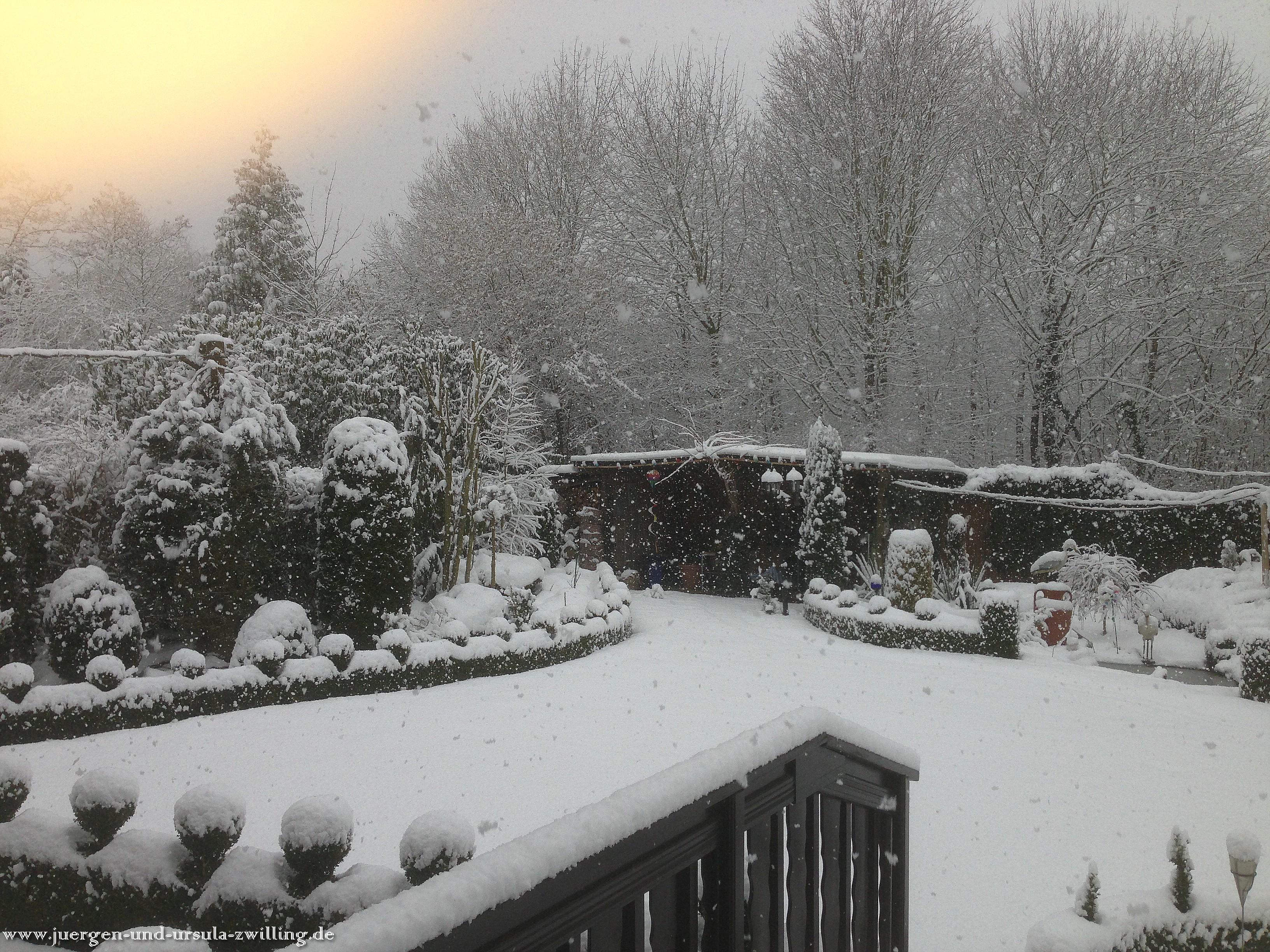 17.03.2013 Schnee ohne Ende