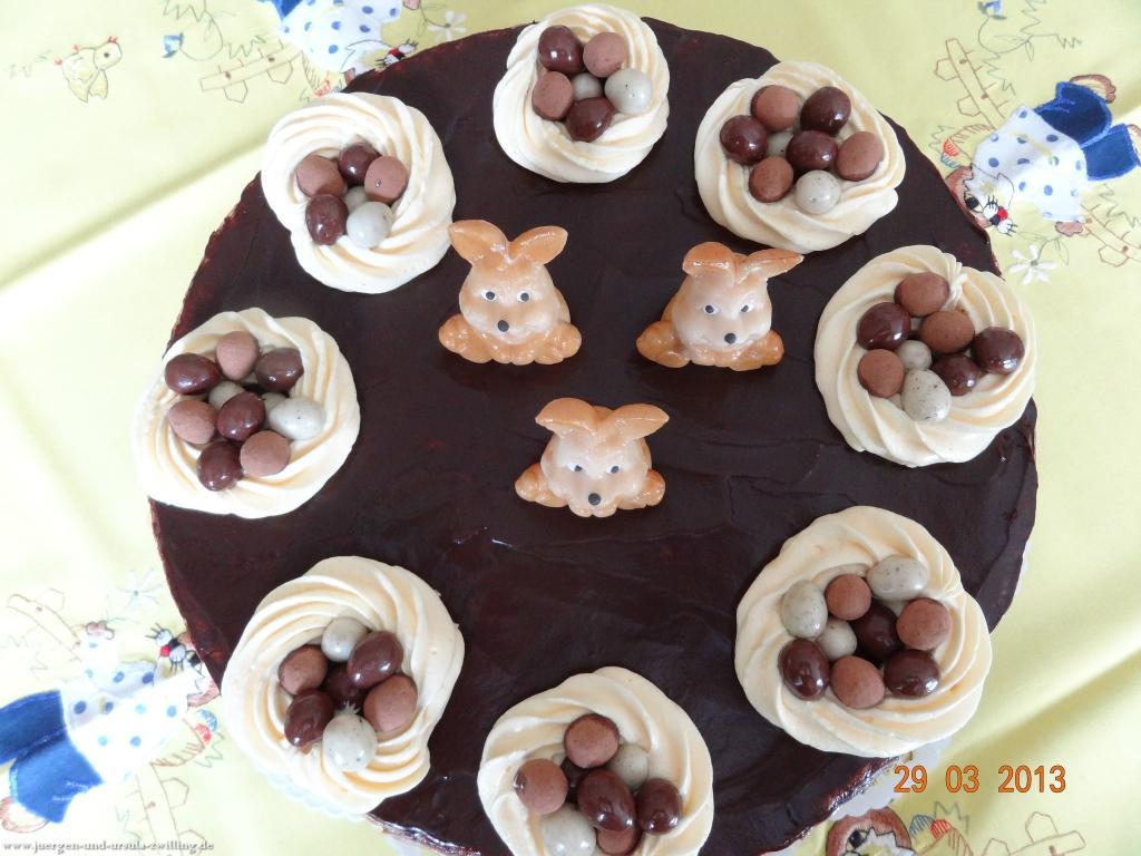 Karfreitag-Schoko-Oster-Einstimmungs-Torte