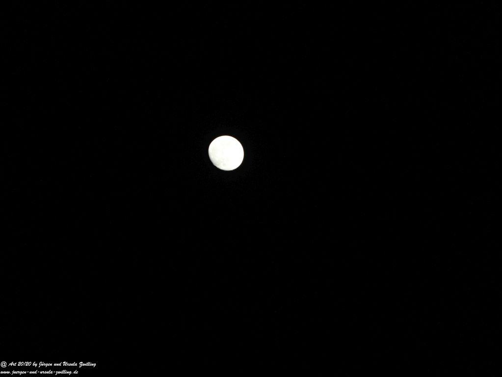 Mondschein über Insel Fehmarn - Ostsee