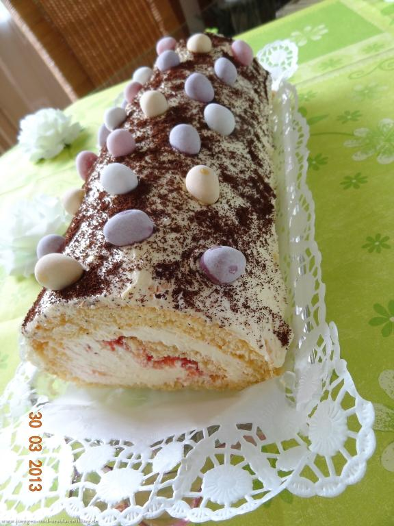 Ostersamstags-Traditions-Buttermilch-Creme Torte