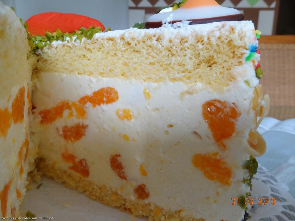 Oster-Mandarine-Käse-Sahne-Torte
