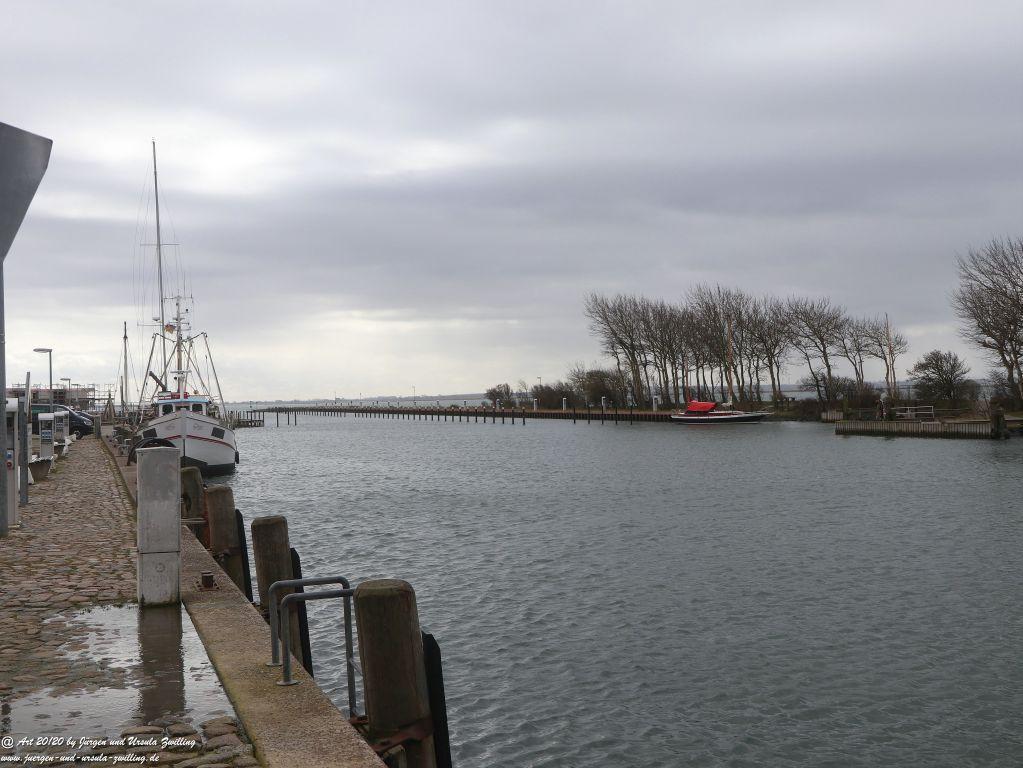 Hafen von Orth Insel Fehmarn - Ostsee