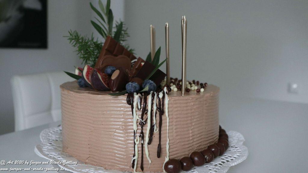 Ursula's Schoko-Geburtstagstorte