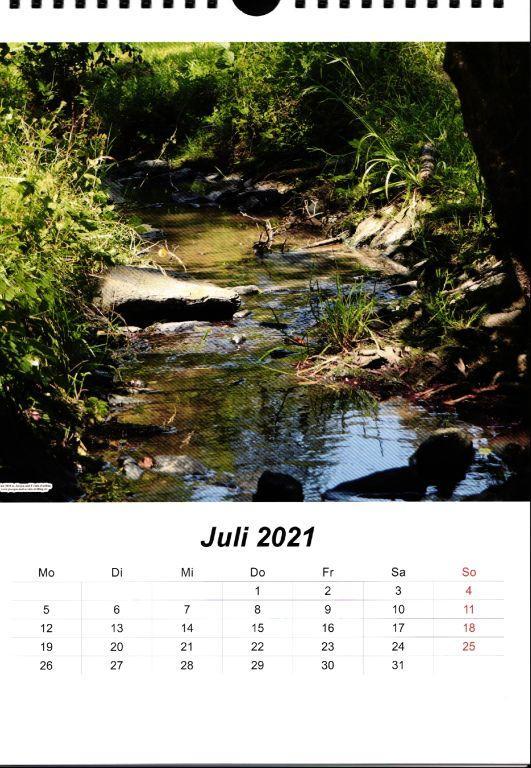 Galerie Kalender 2021 Rhein - Wisper - Taunus