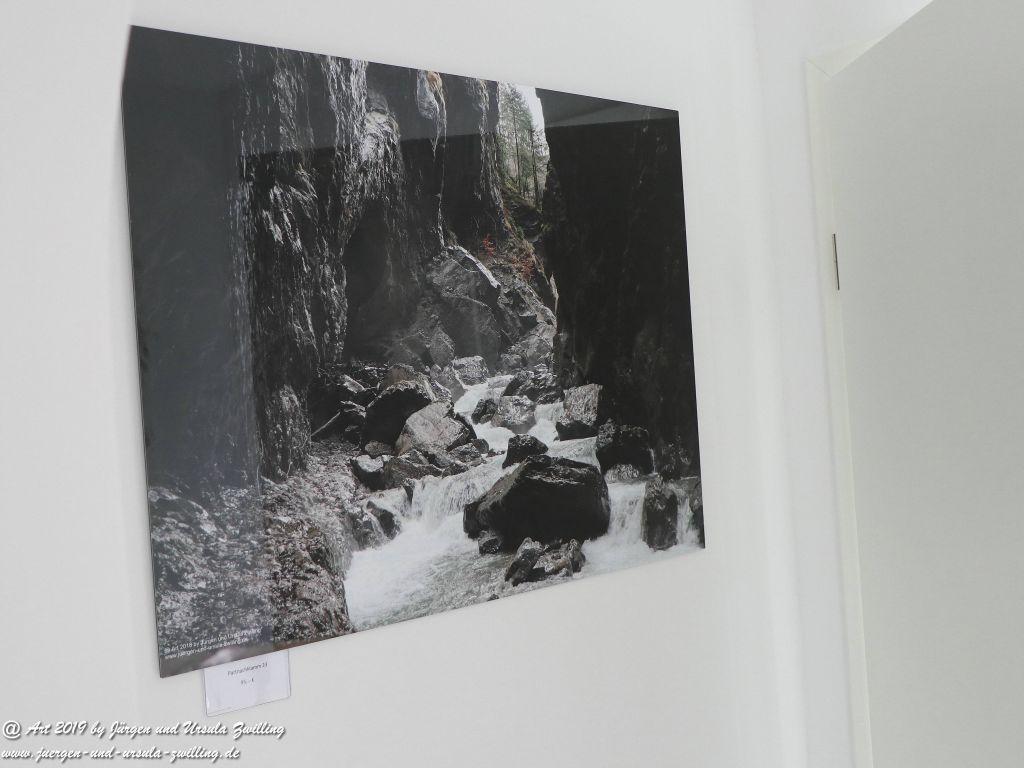 Blick und Einladung in unsere Galerie - Partnachklamm 2
