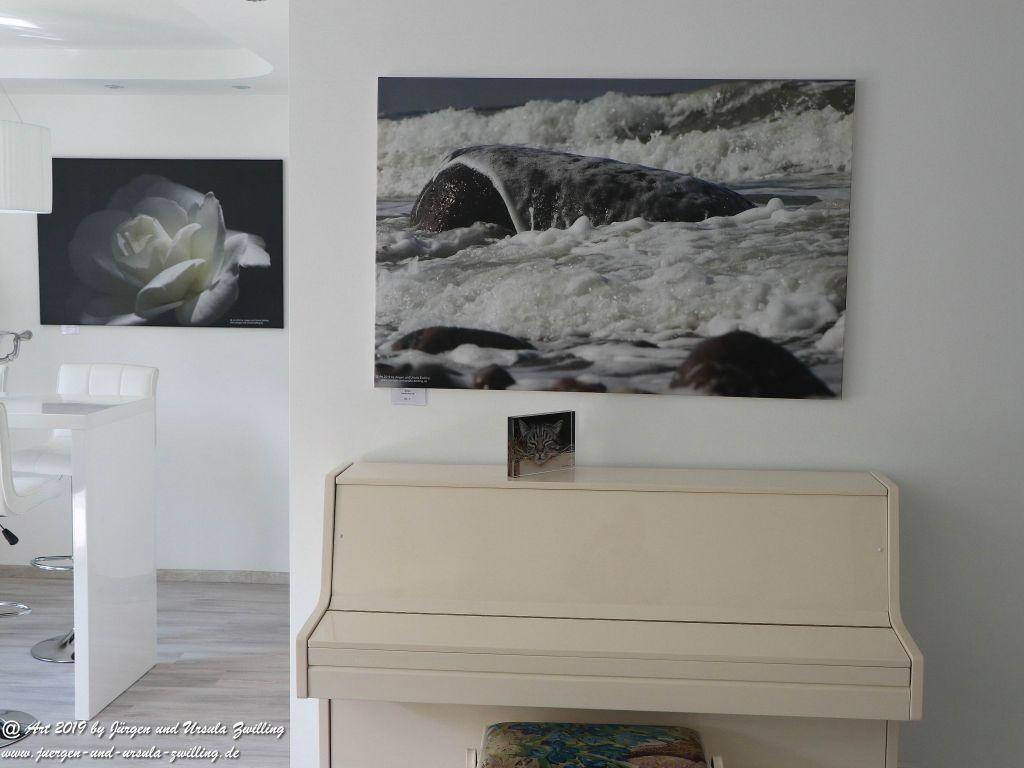 Blick und Einladung in unsere Galerie - Wellen Ahrensshop 18