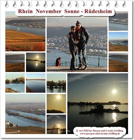 Rhein  November  Sonne - Rüdesheim