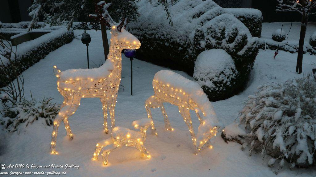 Winter in Mainz - Erster Schnee