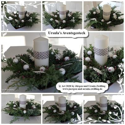 Ursula's Adventsgesteck