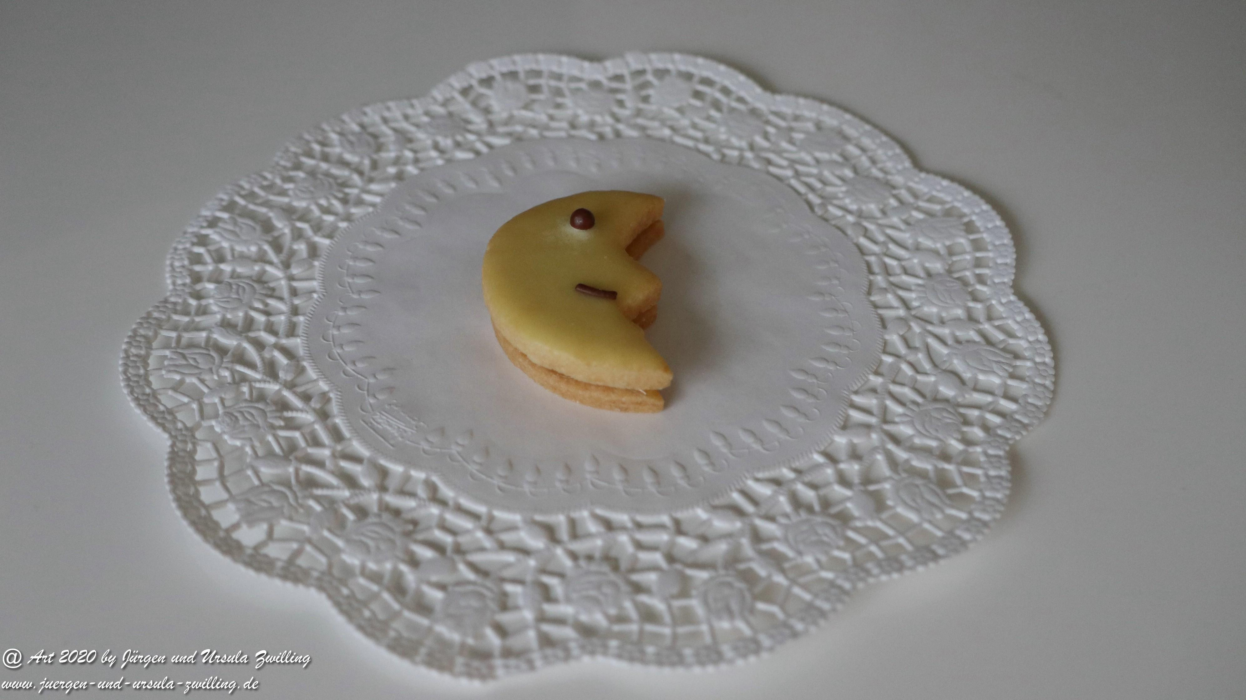 Ursula's Zitronen Mond Plätzchen