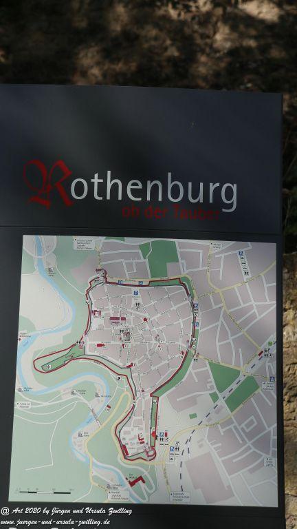 Rothenburg ob der Tauber - Bayern