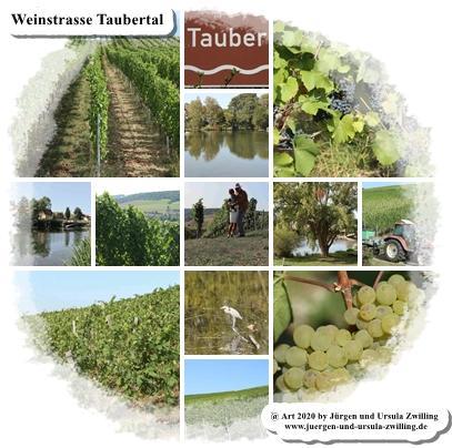 Weinstrasse Taubertal - Tauber - Baden - Franken - Württemberg