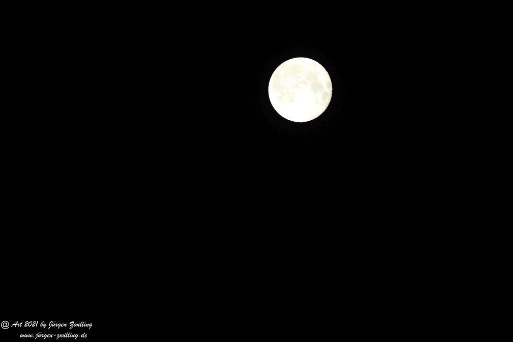 Mond über Mainz - Rheinhessen
