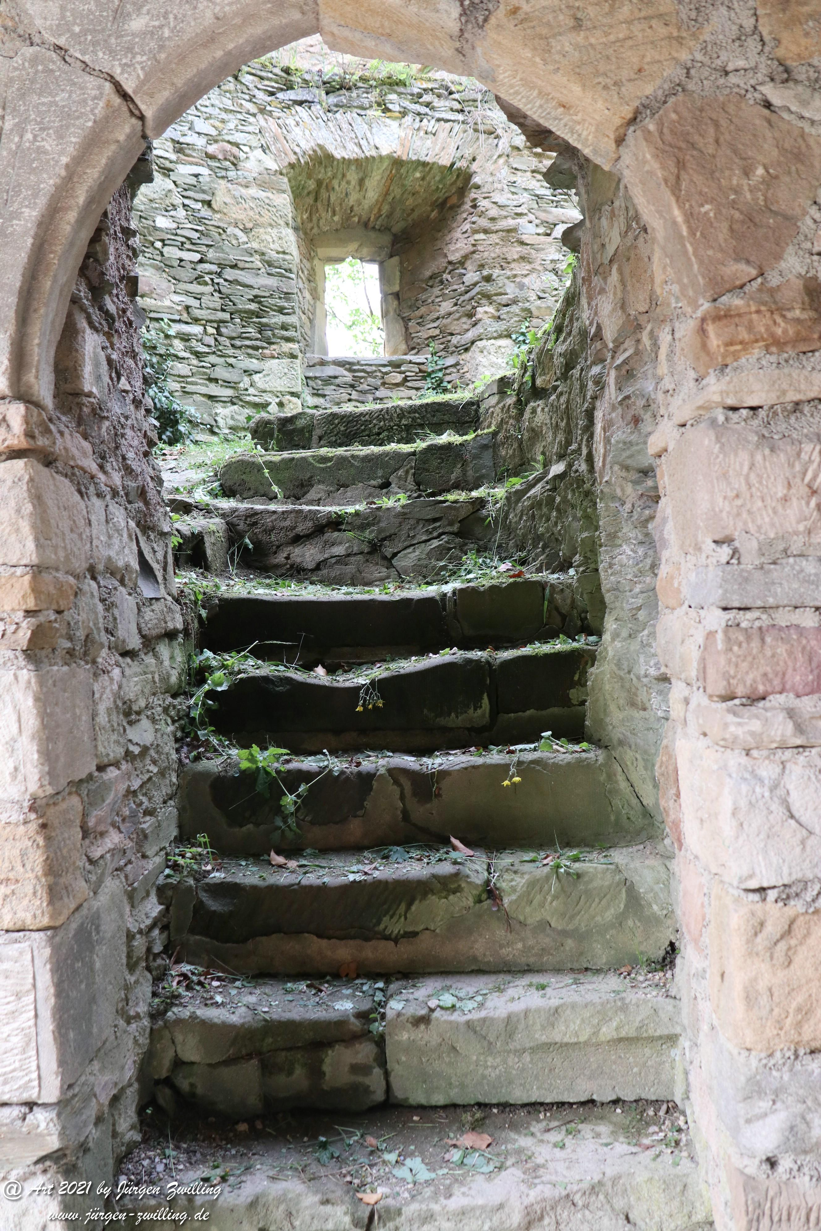 Schloßtreppe