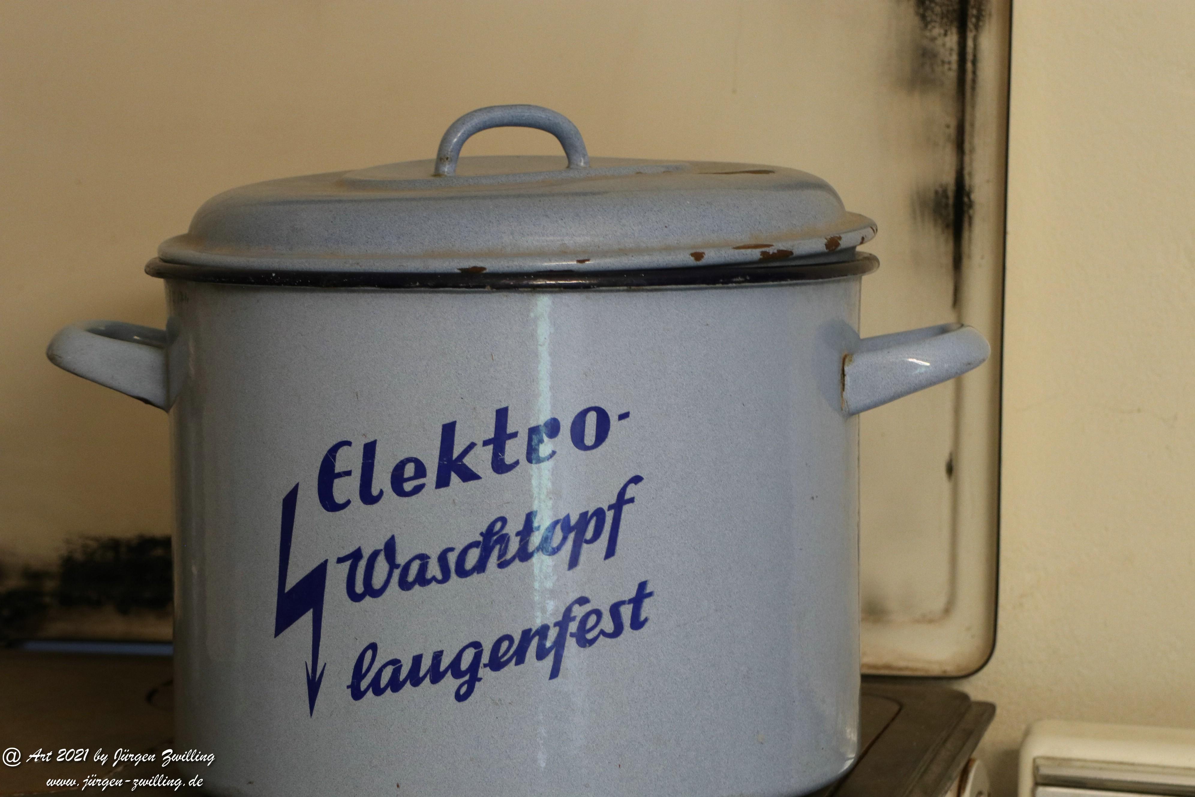 Elektro Waschtopf