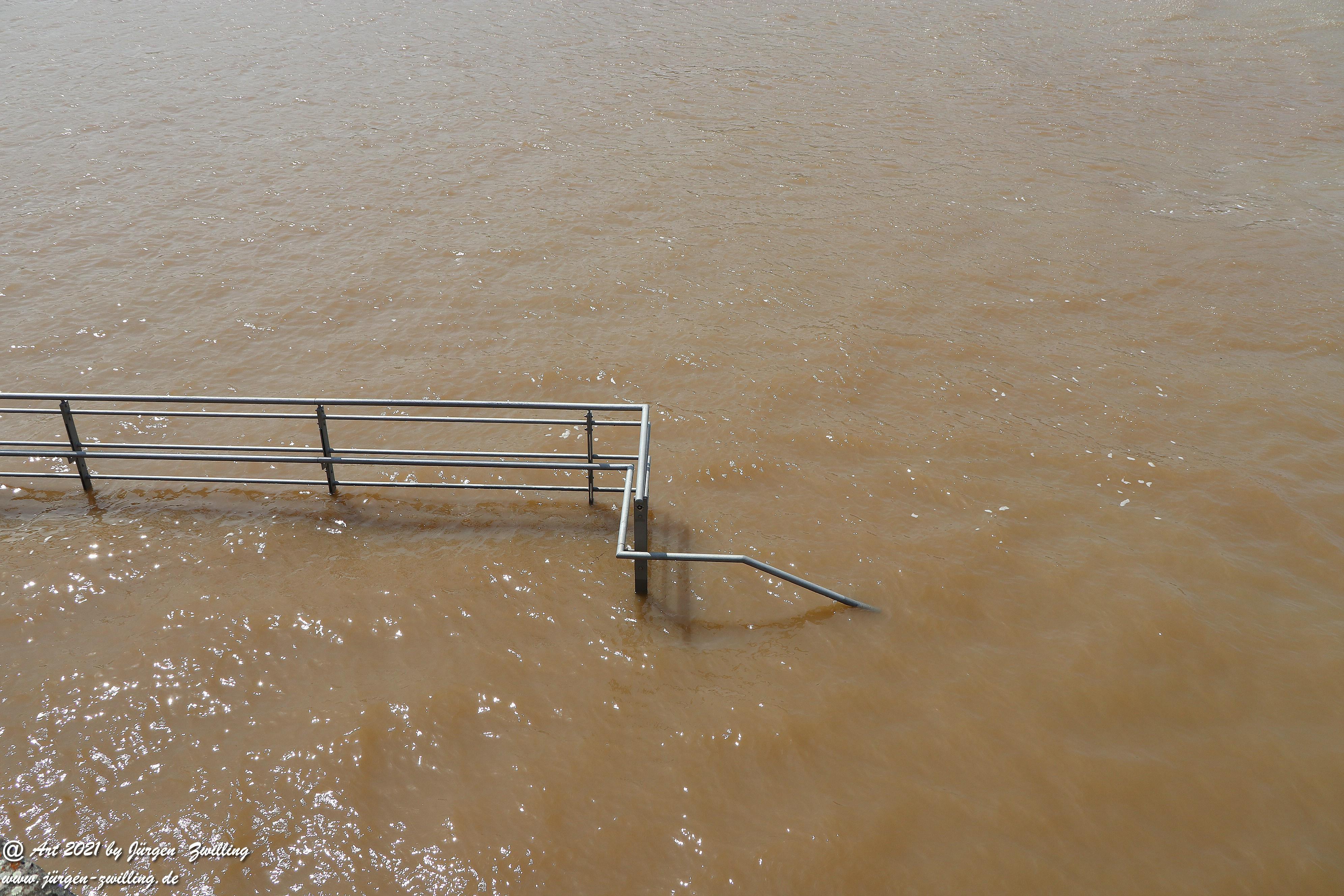 Hochwasser in Bingen am Rhein 3