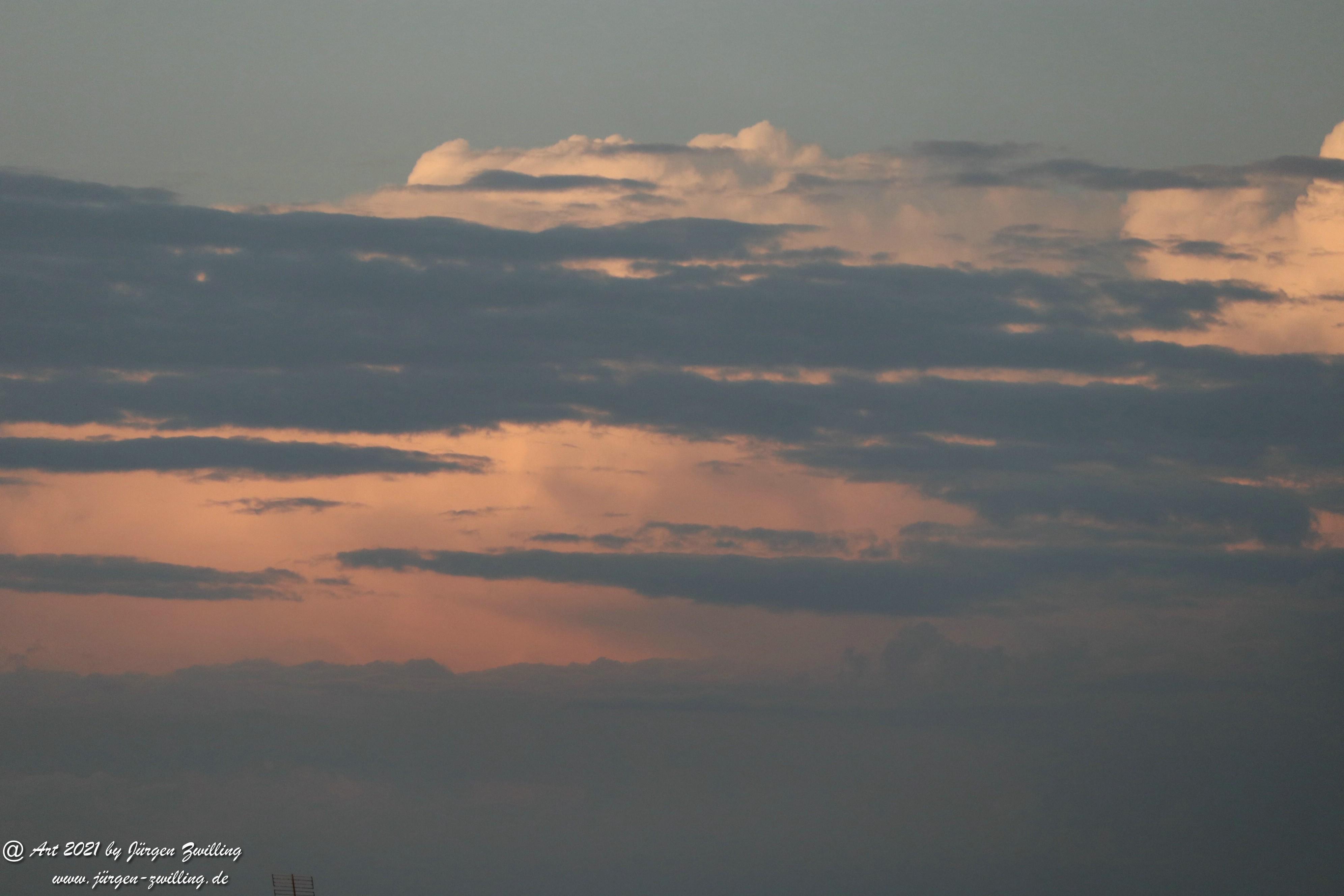 Wolkenhimmel über Hackenheim  12