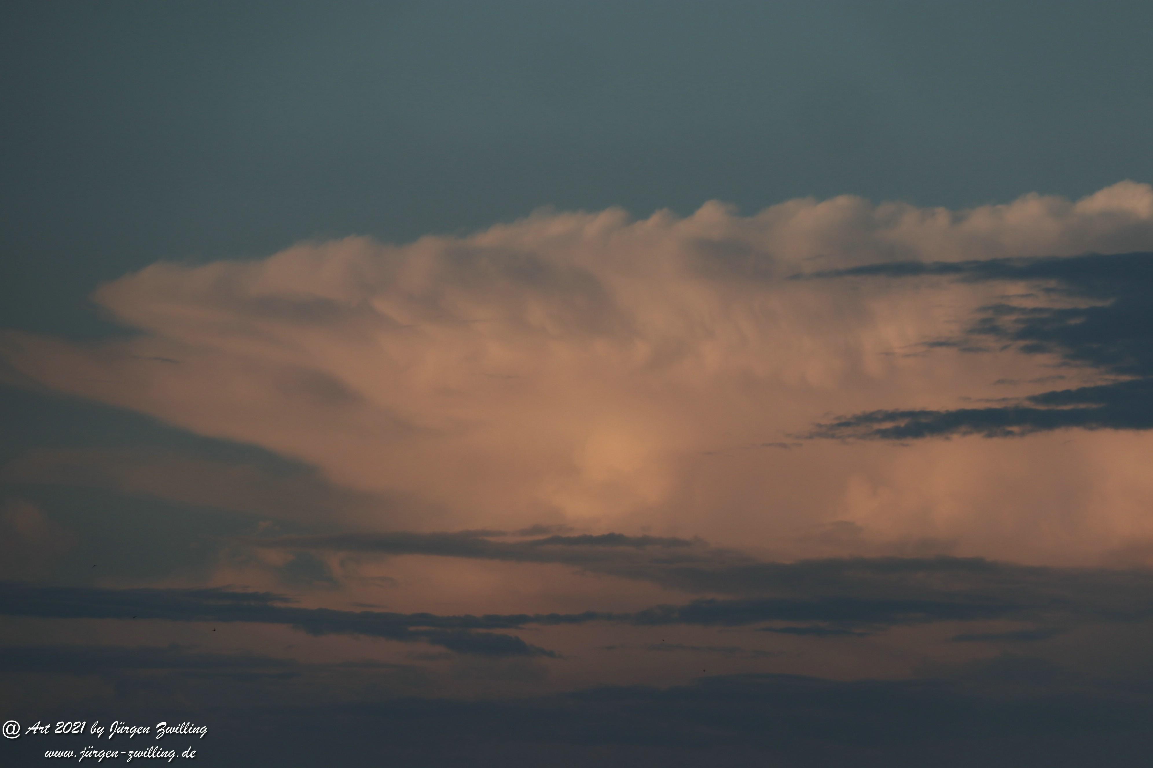 Wolkenhimmel über Hackenheim  16