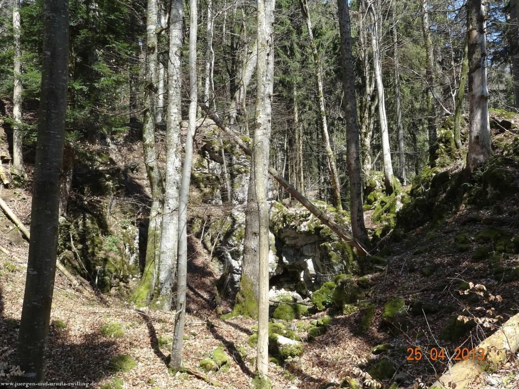 Philosophische Bildwanderung Traufgang-Felsenmeersteig