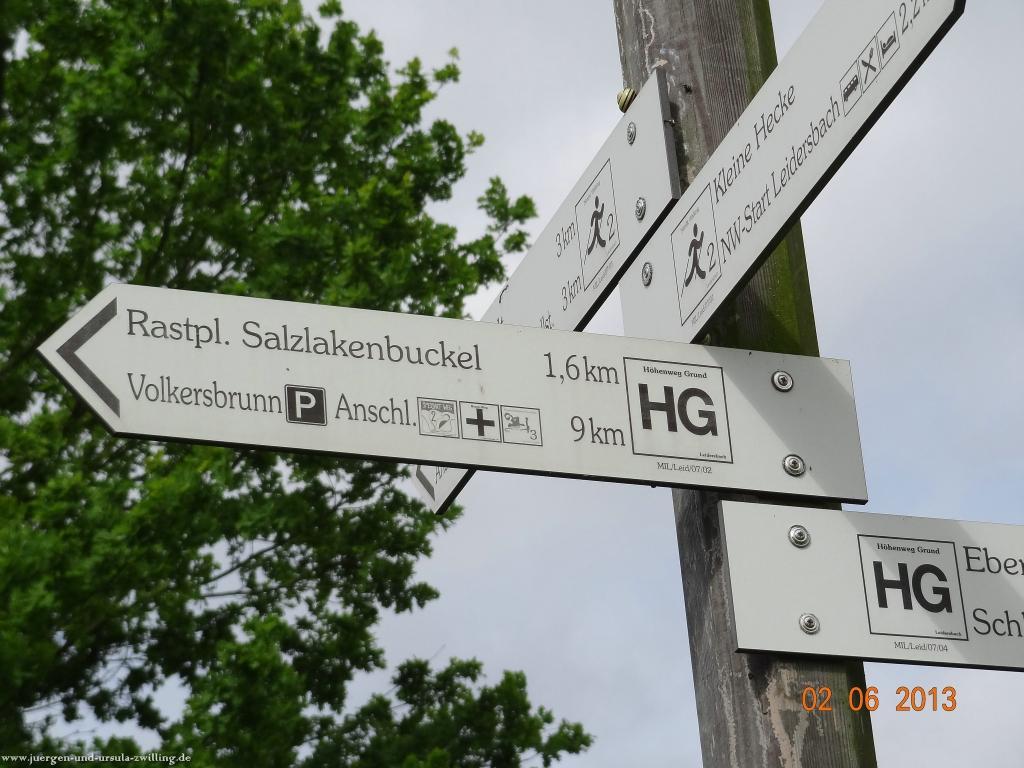 Philosophische Bildwanderung Höhenweg Grund - Spessart