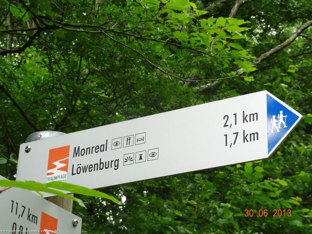 Philosophische Bildwanderung Traumpfad-Monrealer-Ritterschlag