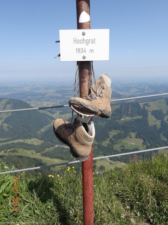 Philosophische Bildwanderung 18-Gratwanderung-bis-zum-Sedererstuiben im Allgäu