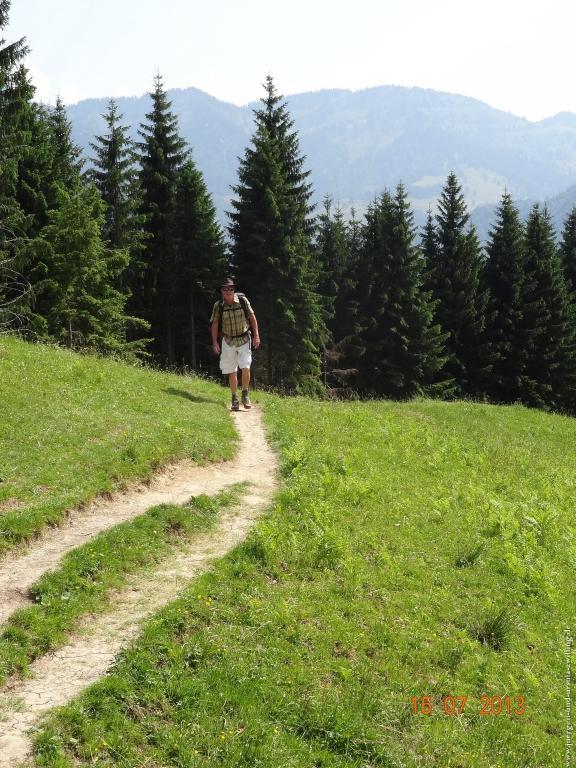 Philosophische Bildwanderung Premiumwanderweg Wilders Wasser im Allgäu