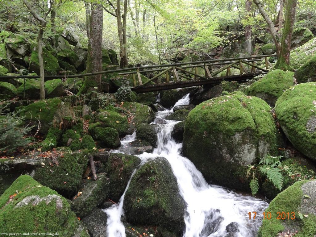 Philosophische Bildwanderung Genießerpfad - Alde Gott Panoramarunde mit Gaishöll Wasserfällen