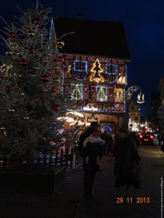 Weihnachtsmarkt in Colmar