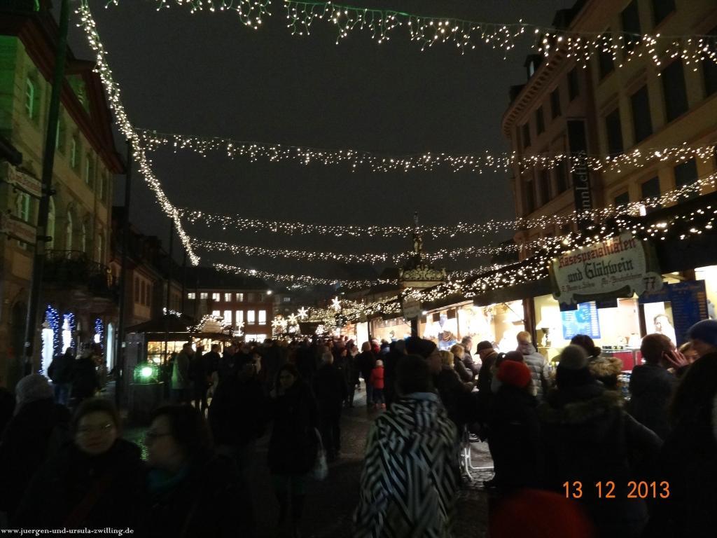 Philosophische Bildwanderung von Ginsheim Gustavsburg zum Mainzer Weihnachtsmarkt