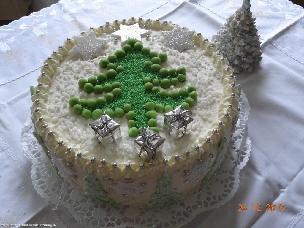 Ursula\'s Weihnachtstorte 2013 (Eigenkreation)