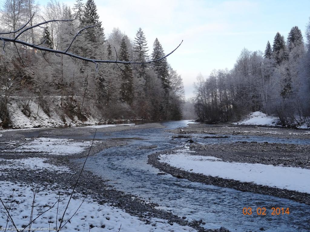 Philosophische Bildwanderung - Winterwanderung Gerstruben - ein Bergdorf im Winter - Allgäu