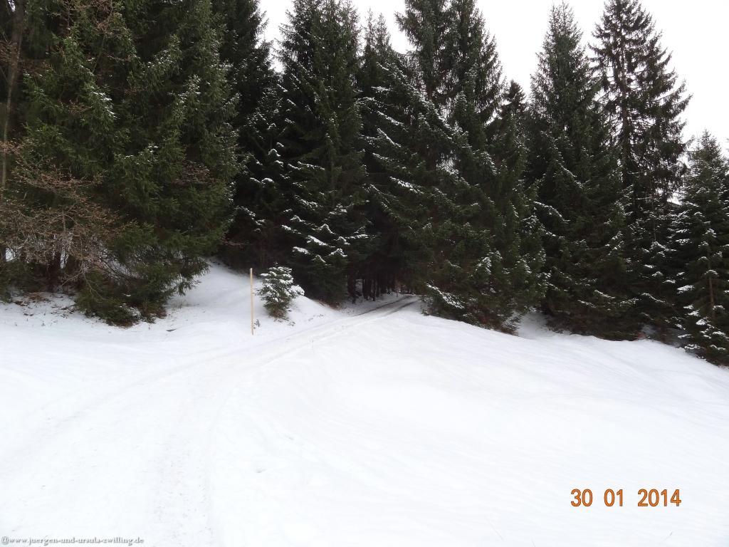 Philosophische Bildwanderung - G - Winterwanderung zur Gaisalpe im Allgäu