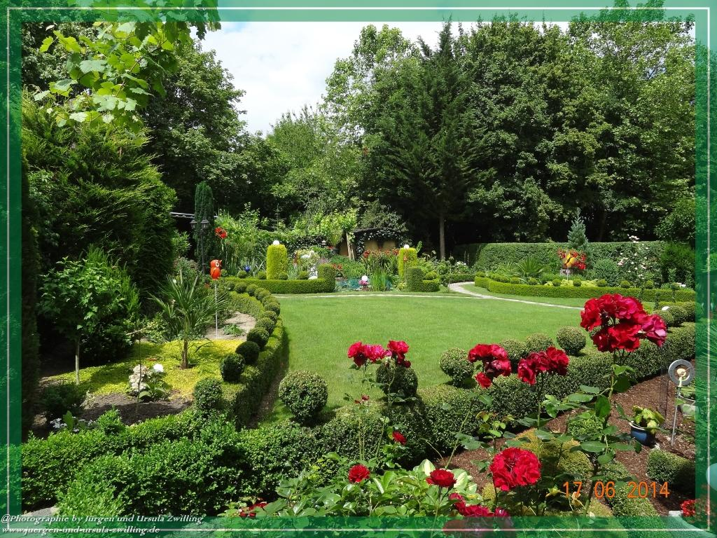 17.06.2014 - Garten im Gesamtblick