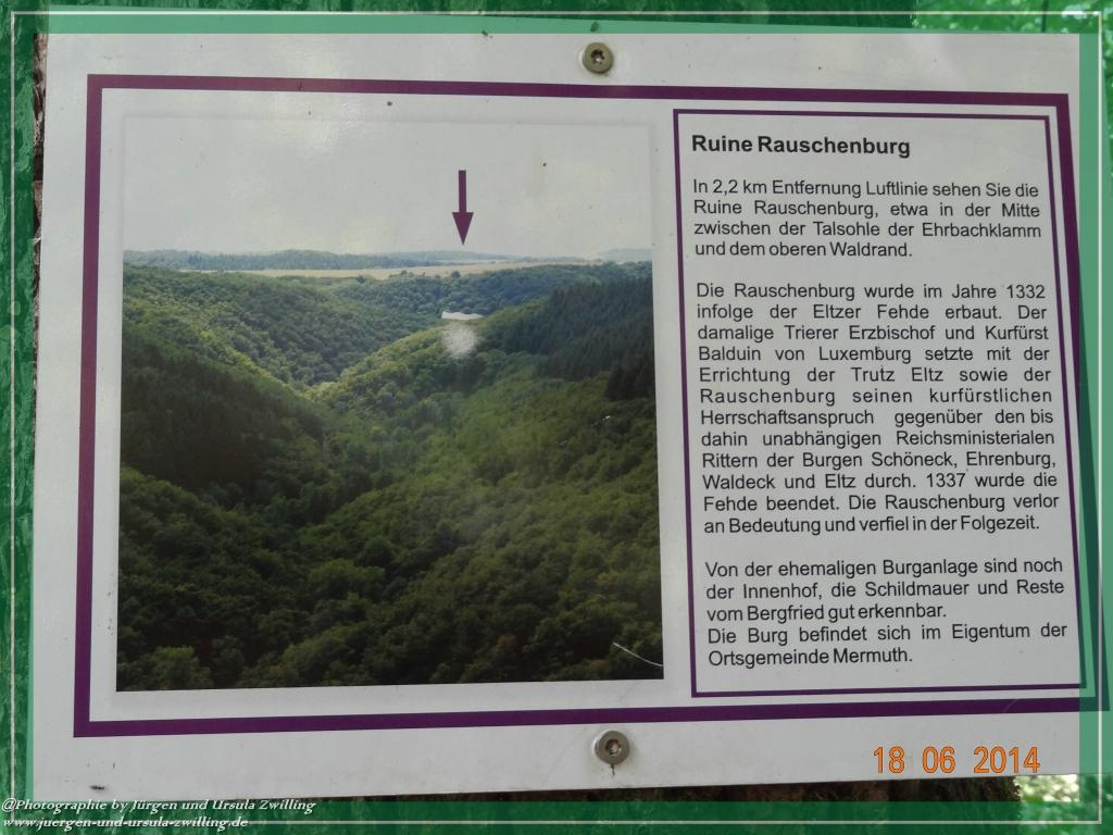 Philosophische Bildwanderung - Ehrbachklamm - Die Große Traumschleife - Hunsrück