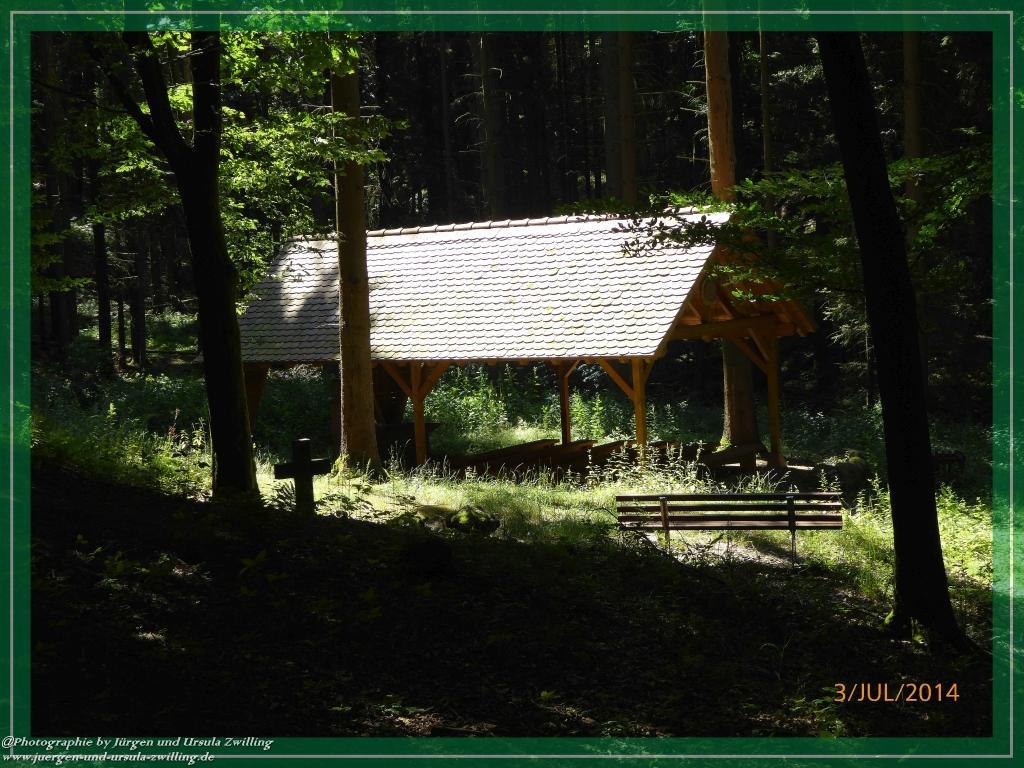 Philosophische Bildwanderung Fischbachtal - St. Jost Pilgerweg -  Odenwald