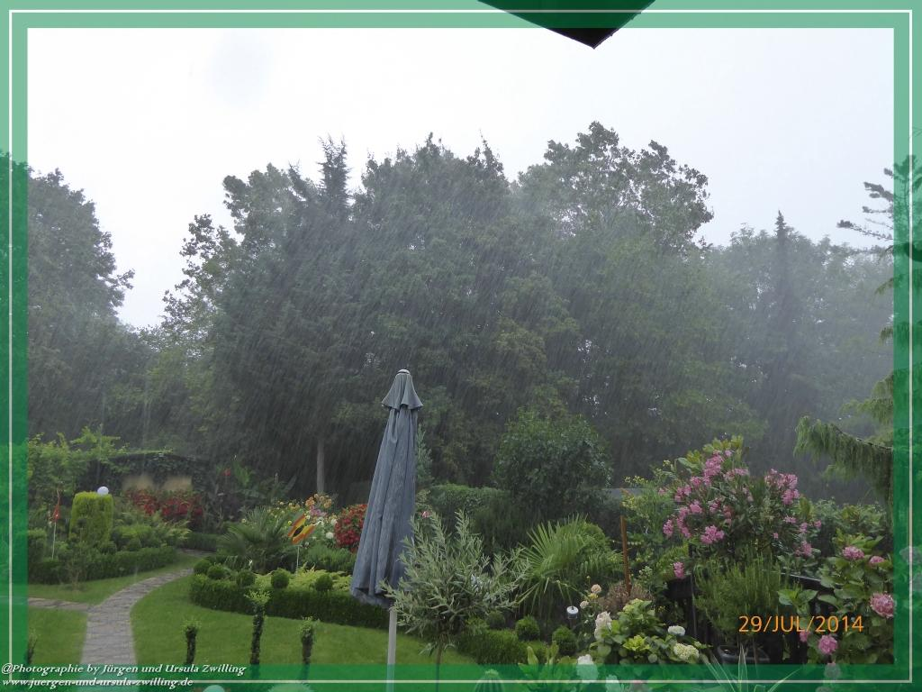 29.07.2014 - Starkregen und Gewitter