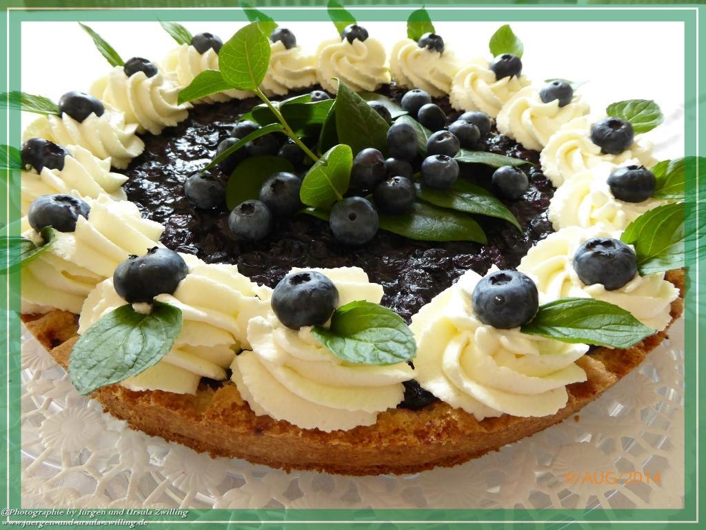 Ursula\'s Französische Heidelbeer Geburtstags Tarte