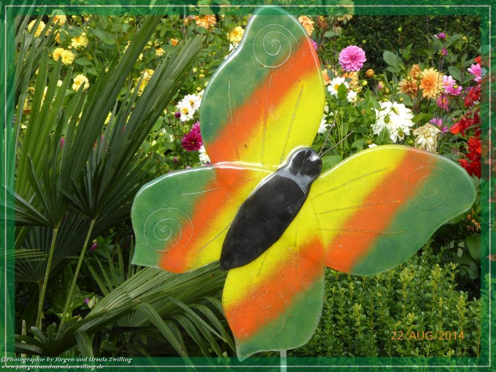 22.08.2014 - Moderne Glaskunst aus dem Bayerischen Wald - Schmetterling  - Teil 4