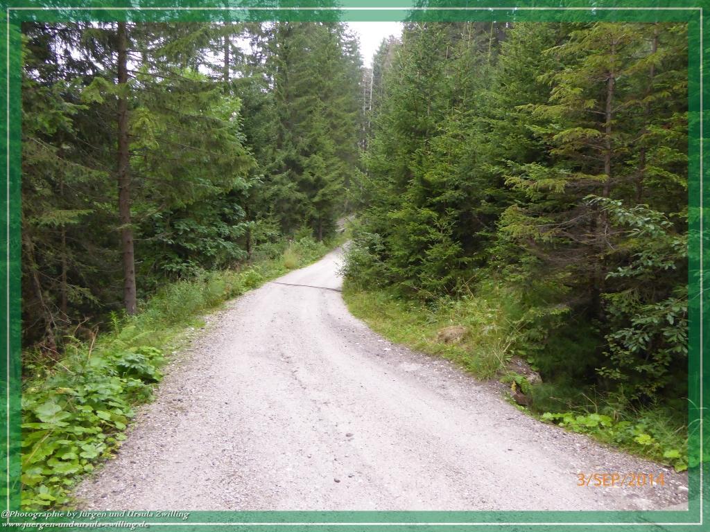 Philosophische Bildwanderung - Klammbachalm und Nemesalm - Sexten - Dolomitien