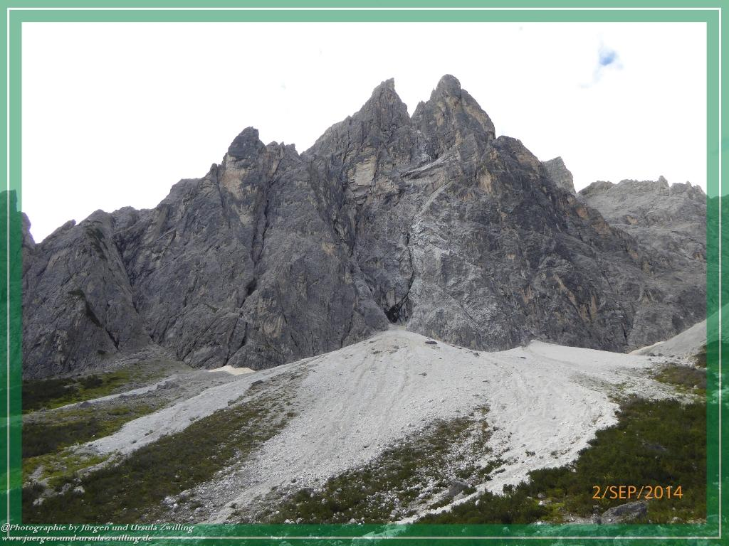 Philosophische Bildwanderung Drei Zinnen Hütte -Rifugio Antonio Locatelli - Sexten - Dolomitien